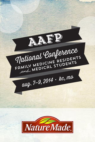 AAFP National Conference 2014 - screenshot