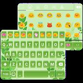 🌿 Green Leaf Emoji Keyboard