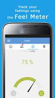 screenshot of Feelic - Social Mood Tracker
