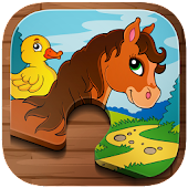 Animal Puzzle Kids + Toddlers