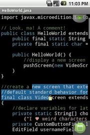 TextWarrior Screenshot 6
