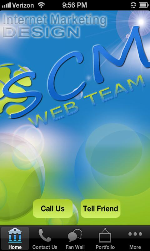SCM Web Team - screenshot