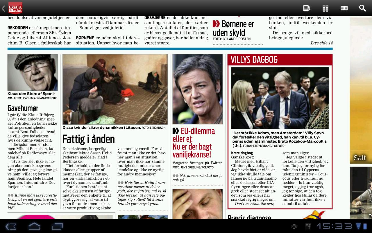 eBladet - screenshot