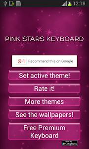 Pink Stars Keyboard v1.2