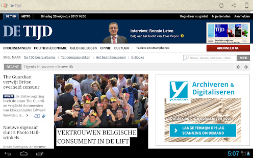 Nederland Kranten - screenshot thumbnail