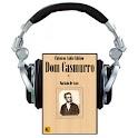 Audio Livro Dom Casmurro logo