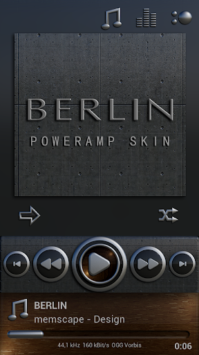 Poweramp skin Berlin