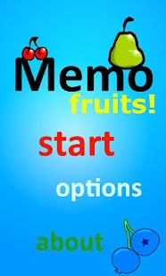 Memo - Fruits - screenshot thumbnail