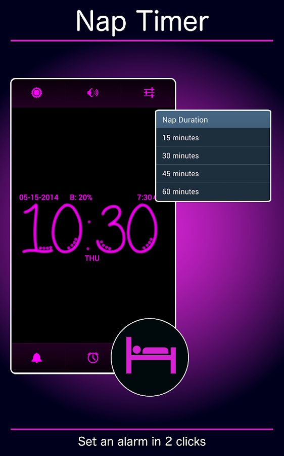 Pink Clock- screenshot