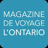 Magazine de voyage L'Ontario