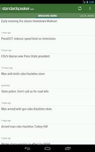 The Hazleton Standard-Speaker - screenshot thumbnail