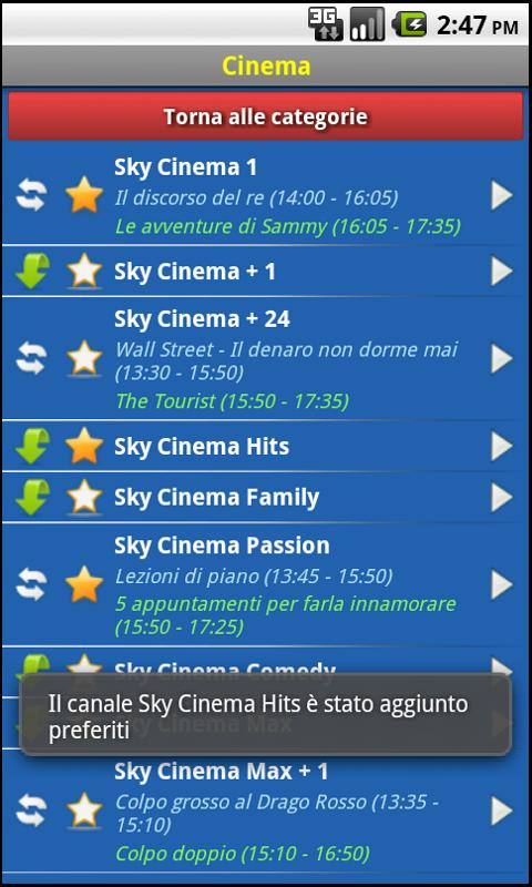 EasySky Guida TV - screenshot