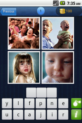 Guess Word : 4 pics 1 word