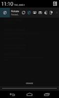 Screenshot of Rotate Screen Orientation