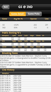 Odds - Sportsbook Vegas Lines - screenshot thumbnail