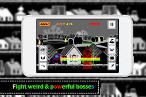Screenshot of Robot Chicken - Run Boy Run !