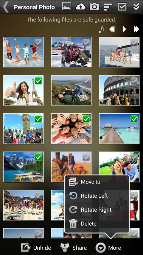Gallery Lock (Hide pictures)- screenshot