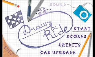 Screenshot of Draw and ride