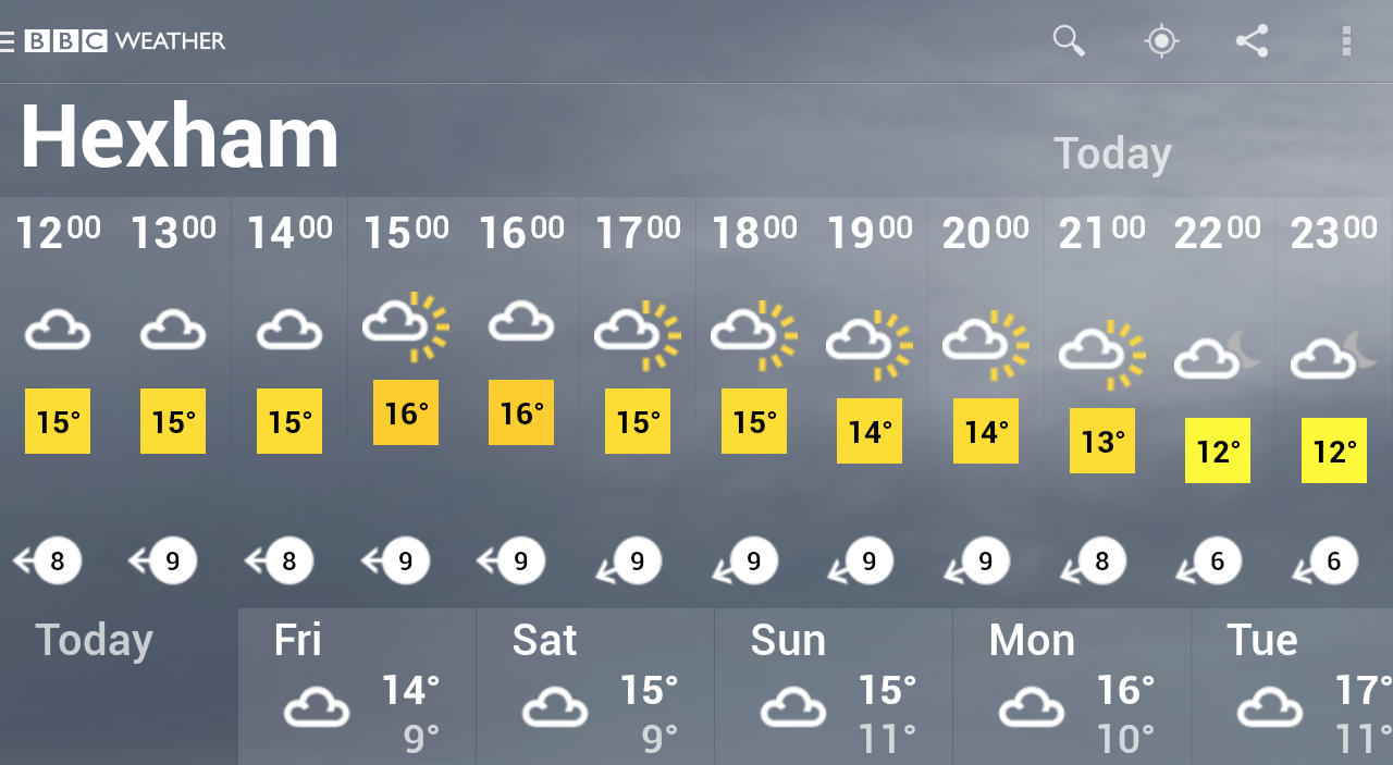 BBC Weather screenshot #15