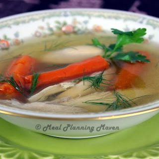 Classic Jewish Chicken Soup.