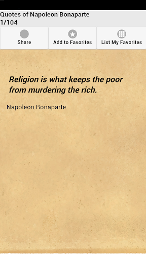Quotes of Napoleon Bonaparte