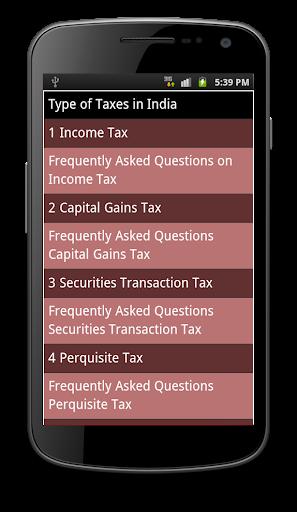Indian Taxes in Hindi