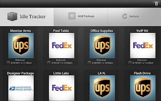 Screenshot of IdleTracker HD
