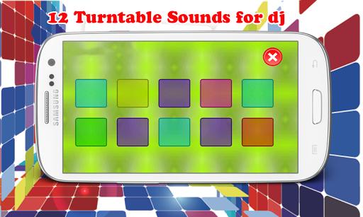 轉盤DJ SFX聲音