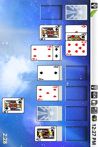 Star Solitaire - screenshot