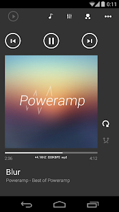 Poweramp skin Metro UI - screenshot thumbnail