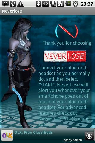 Neverlose My Droid - screenshot