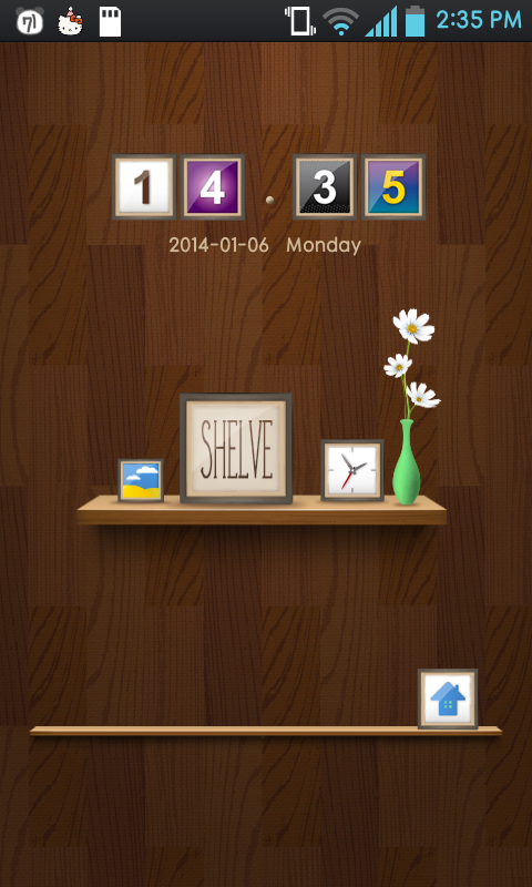 SHELVE go locker theme - screenshot