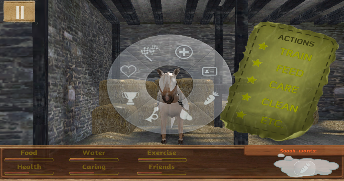 Tame your horse,pony & donkey- screenshot