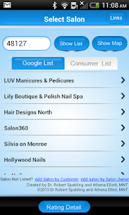 Safe Salon Rating- screenshot thumbnail