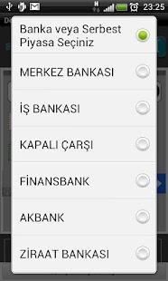 Döviz Çevirici (Anlık)- screenshot thumbnail