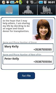 Organ Donor ECard- screenshot thumbnail