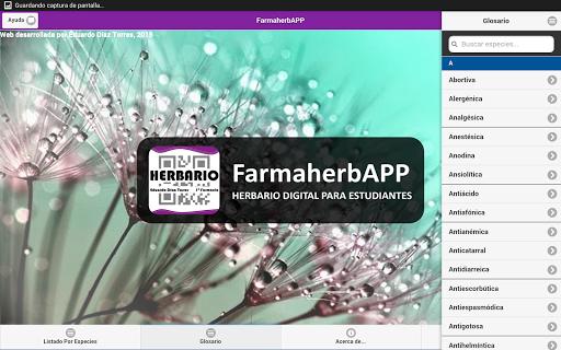 FarmaherbAPP for Tablet