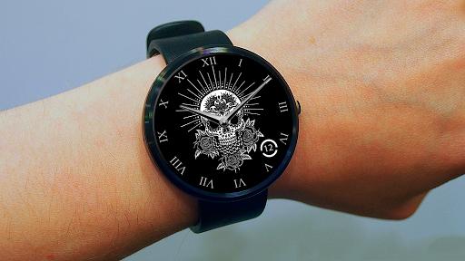 Skull Wear Watch Face