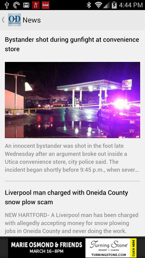Observer Dispatch   Utica  NY  screenshot Google Play