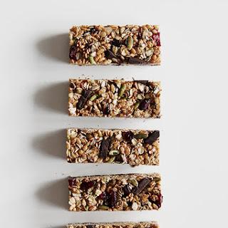 Granola Bars with Superfood Chocolate