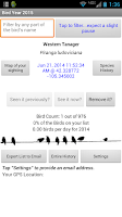 Screenshot of Bird Year 2015