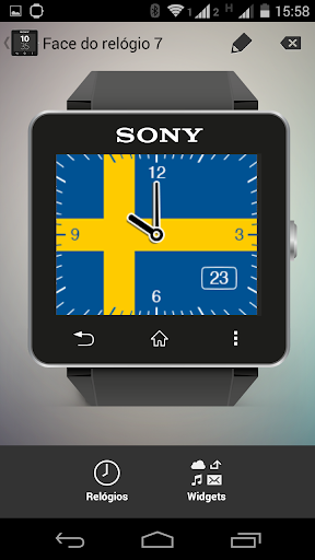 Watchface Sweden Sony SW2