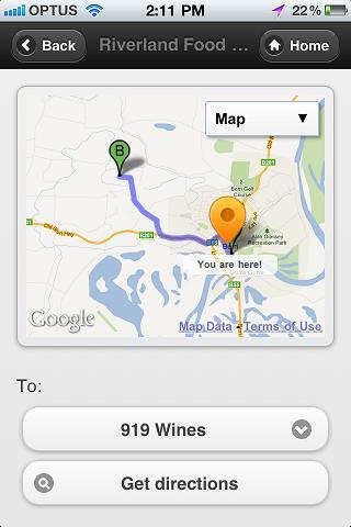 Riverland Food & Wine- screenshot