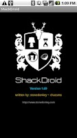 Screenshot of ShackDroid