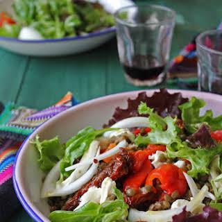 Green Lentil Salad.
