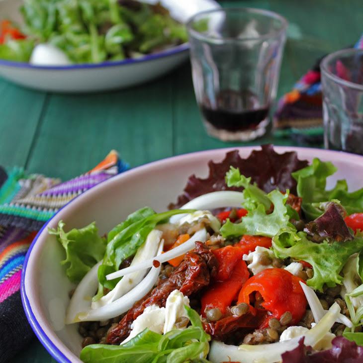 Green Lentil Salad Recipe