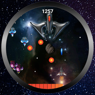 Space War (Android Wear)- screenshot thumbnail