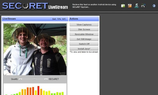 Camera WiFi LiveStream DEMO - screenshot thumbnail