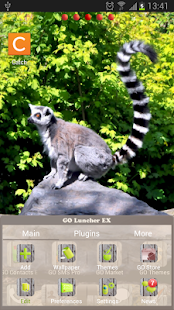 GO Launcher Zoo Animals Theme - screenshot thumbnail