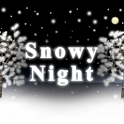Snowy Night Live Wallpaper icon